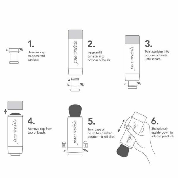 Powder-Me SPF 30 Dry Sunscreen Refill Canister 3-Pack